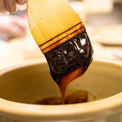 切寿司の味の決め手。甘辛い名古屋味です。